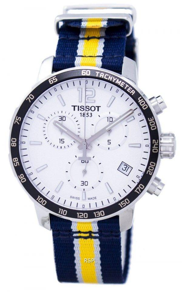 Montre Tissot Quickster NBA Indiana Pacers T095.417.17.037.23 T0954171703723 masculin