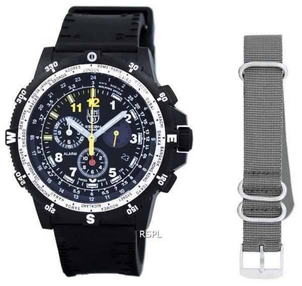 Montre Luminox Recon Team Leader chronographe 8840 série Quartz XL.8841.KM.SET masculin