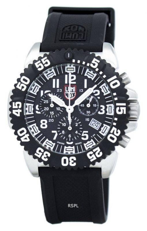 LUMINOX Navy Seal Colormark chronographe 3180 série Quartz XS.3181 montre homme