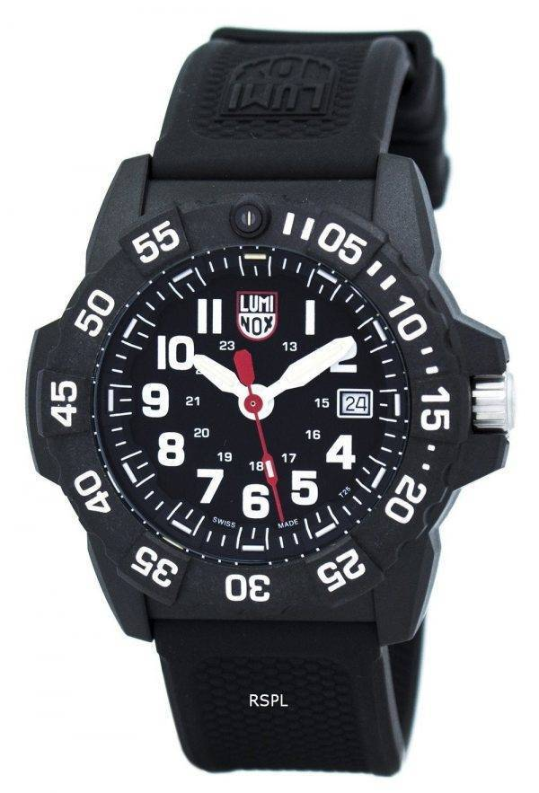 LUMINOX Navy Seal 3500 série Quartz XS.3501 montre homme