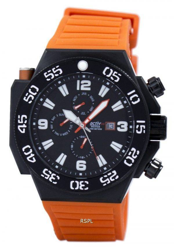 Westar Quartz 1000M 90075BBN883 montre homme