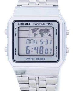 Alarme Casio World Time Digital A500WA-7DF montre homme