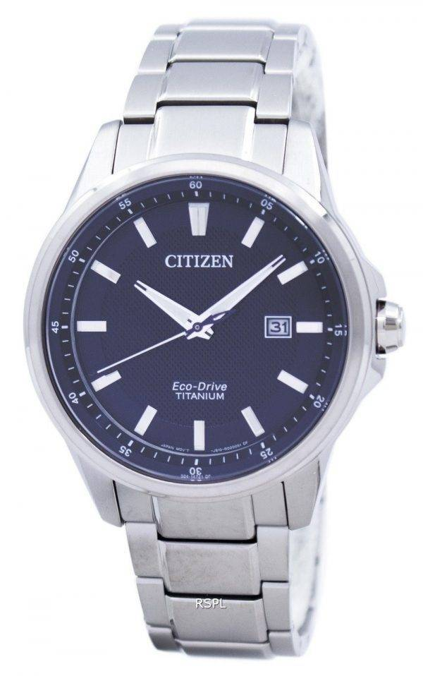 Montre Citizen Eco-Drive titane analogique AW1490-84F masculine
