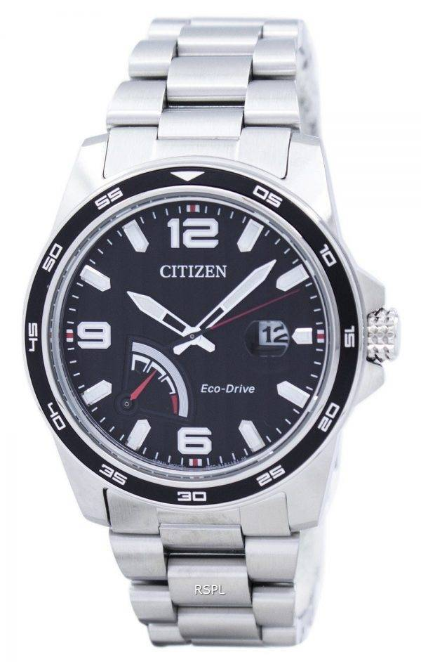 PRT Citizen Eco-Drive Power Reserve AW7030-57F analogique montre homme