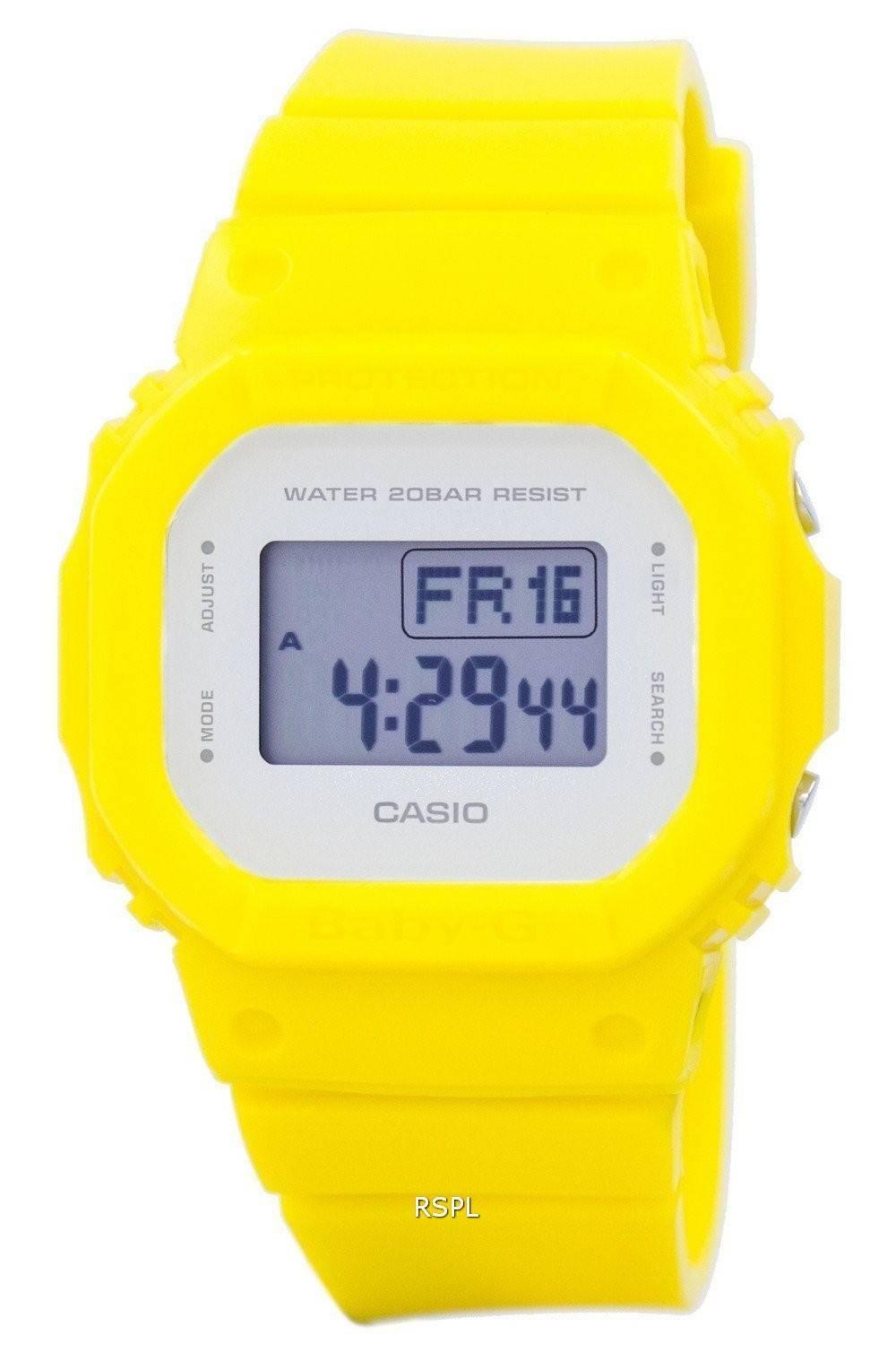 Montre Casio Baby G alarme numérique 200M BGD 560CU 9 féminines