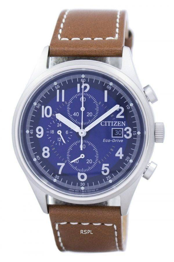 Chandler Citizen Eco-Drive Chronograph CA0621 - 05L montre homme