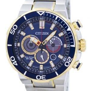Citizen Eco-Drive chronographe analogique 200M CA4254 - 53L montre homme