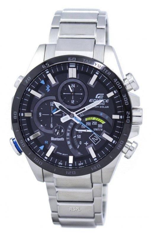 Casio Edifice Tough Solar Filght Mode Bluetooth tachymètre EQB-501XDB-1 a montre homme
