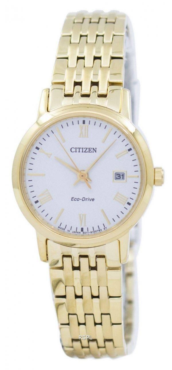 Montre Citizen Eco-Drive analogique EW1582-54 a féminine