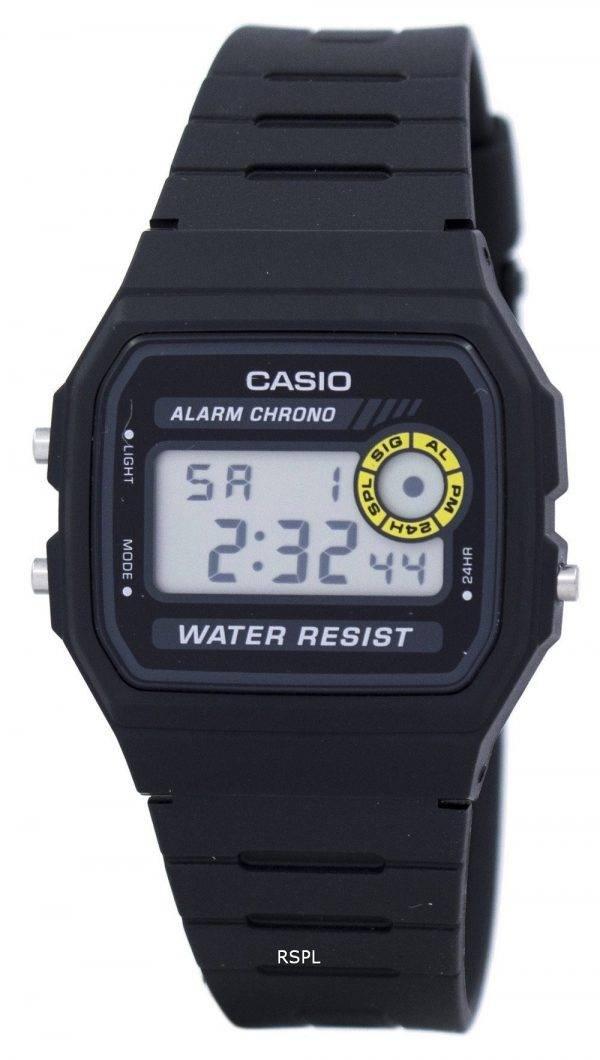 Montre Casio Chrono alarme numérique F-94WA-8 hommes