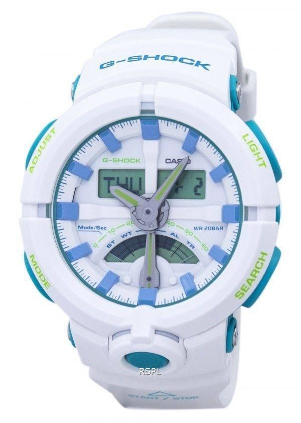 Casio G-Shock résistant aux chocs alarme analogique numérique GA-500WG-7 a montre homme