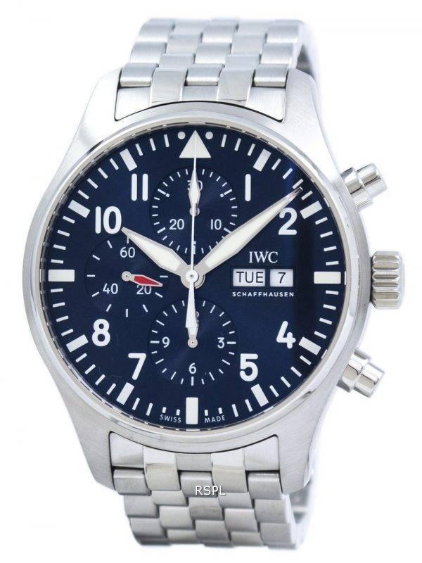 IWC Pilot de «LE PETIT PRINCE» édition chronographe automatique IW377717 montre homme