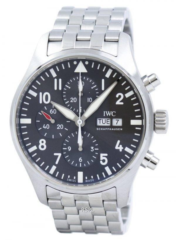 Montre Spitfire chronographe automatique IW377719 masculin IWC Pilot