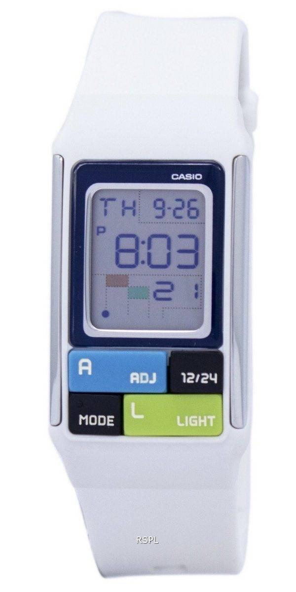 Montre Casio double temps alarme numérique LDF-50-7 D féminin