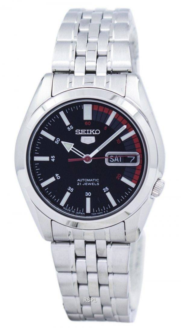 Seiko 5 automatique Japon fait 21 Jewels SNK375 SNK375J1 SNK375J montre homme