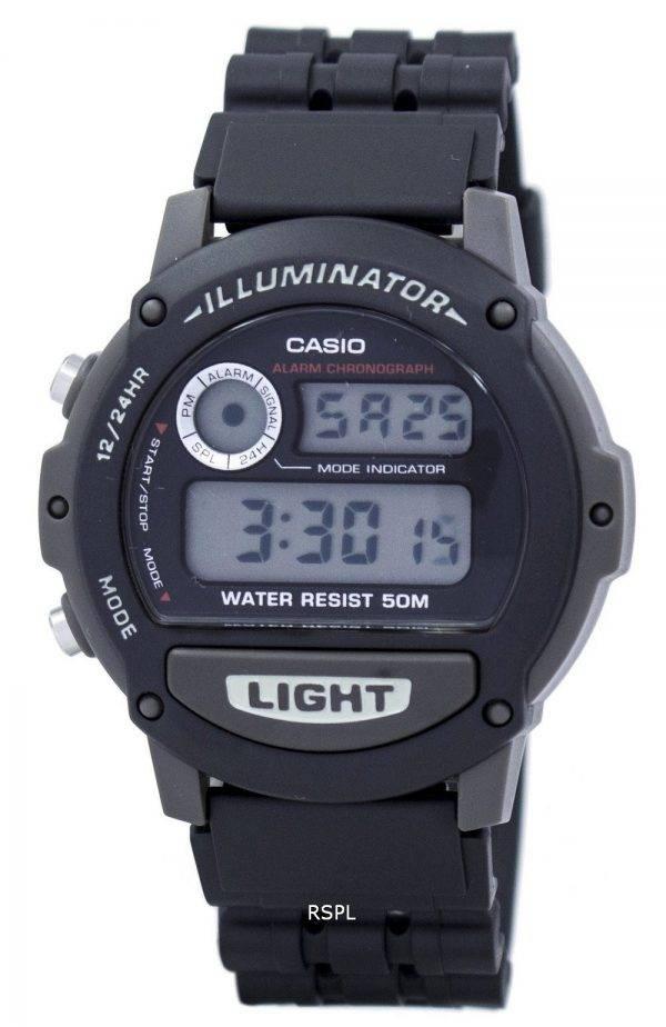 Casio Sport Illuminator alarme chronographe Digital W87H-1V montre homme
