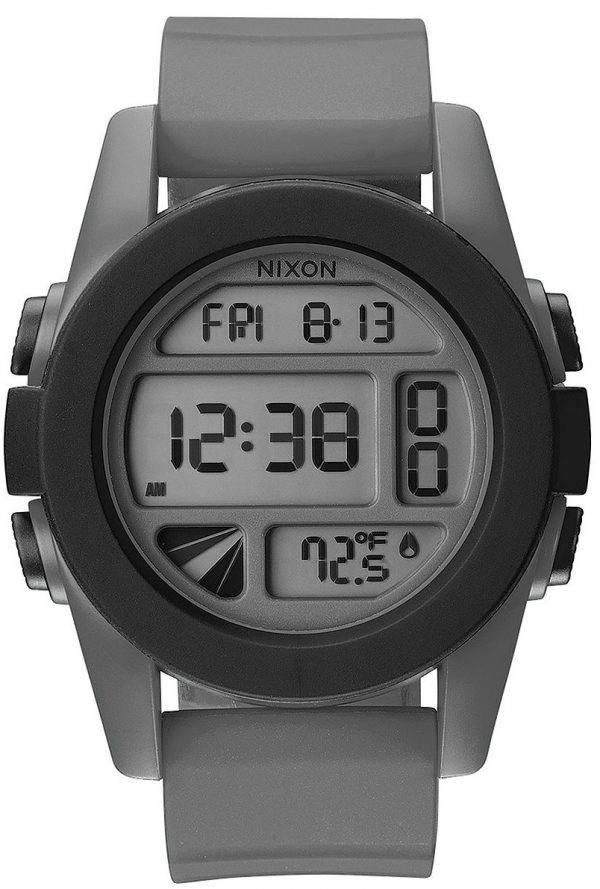 Nixon unité heure double alarme numérique A197-195-00 montre homme