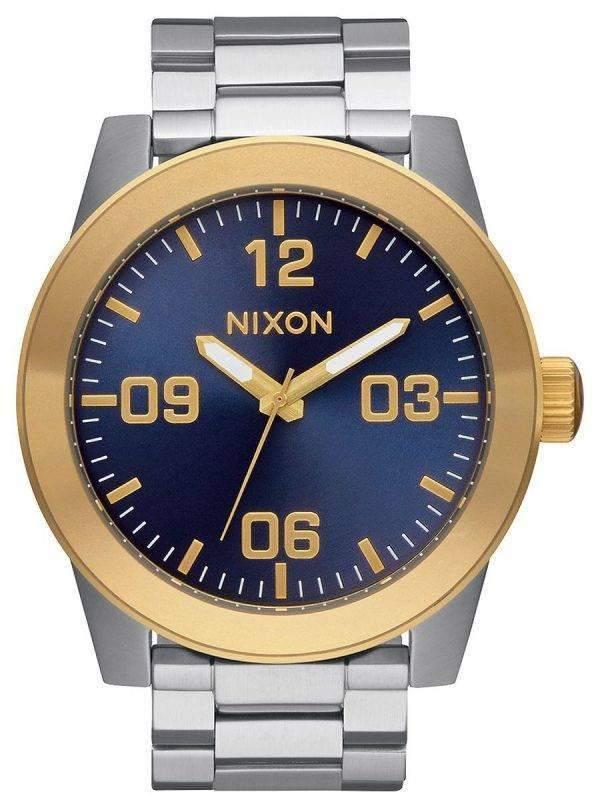 Nixon le caporal Quartz A346-1922-00 montre homme