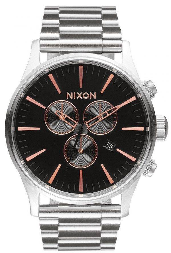 Montre Nixon Sentry Chrono Quartz A386-2064-00 masculin