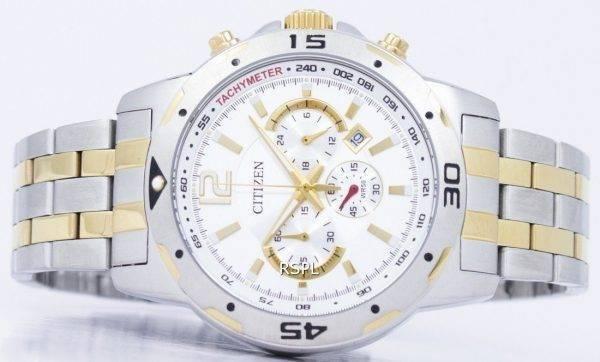 Tachymètre chronographe Citizen Quartz AN8104-53 a montre homme