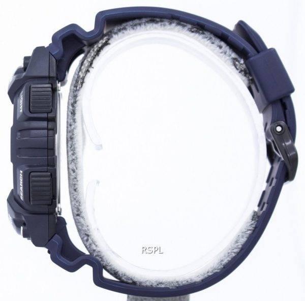 Montre Casio Illuminator alarme solaire dure analogique numérique AQ-S810W-2A2V hommes
