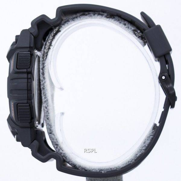 Montre Casio Illuminator alarme solaire dure analogique numérique AQ-S810W-8AV hommes