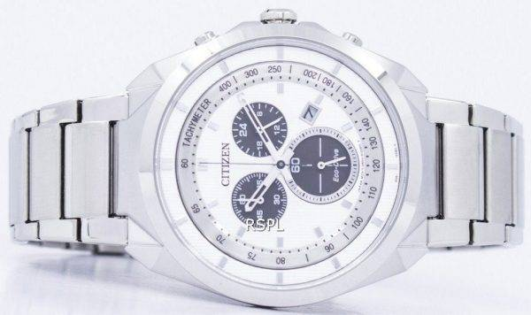 Montre Citizen Eco-Drive chronographe tachymètre AT2150-51 a masculine