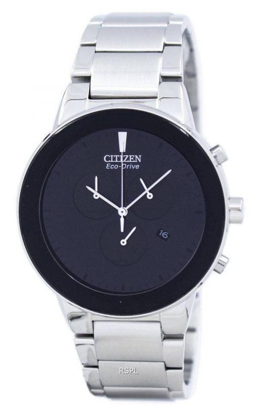 Axiome de Citizen Eco-Drive Chronograph AT2240-51E montre homme