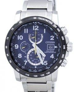 Citizen Eco-Drive Radio Controlled Chronograph AT8124 - 91L montre homme