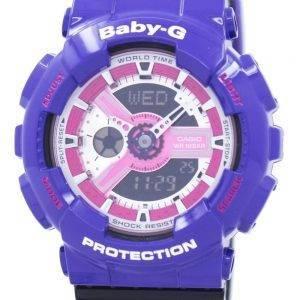 Casio Baby-G monde temps résistant aux chocs analogique numérique BA-110NC-6 a Women Watch