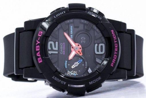 Casio Baby-G résistant aux chocs marée graphique analogique numérique BGA-180-1 b Women Watch