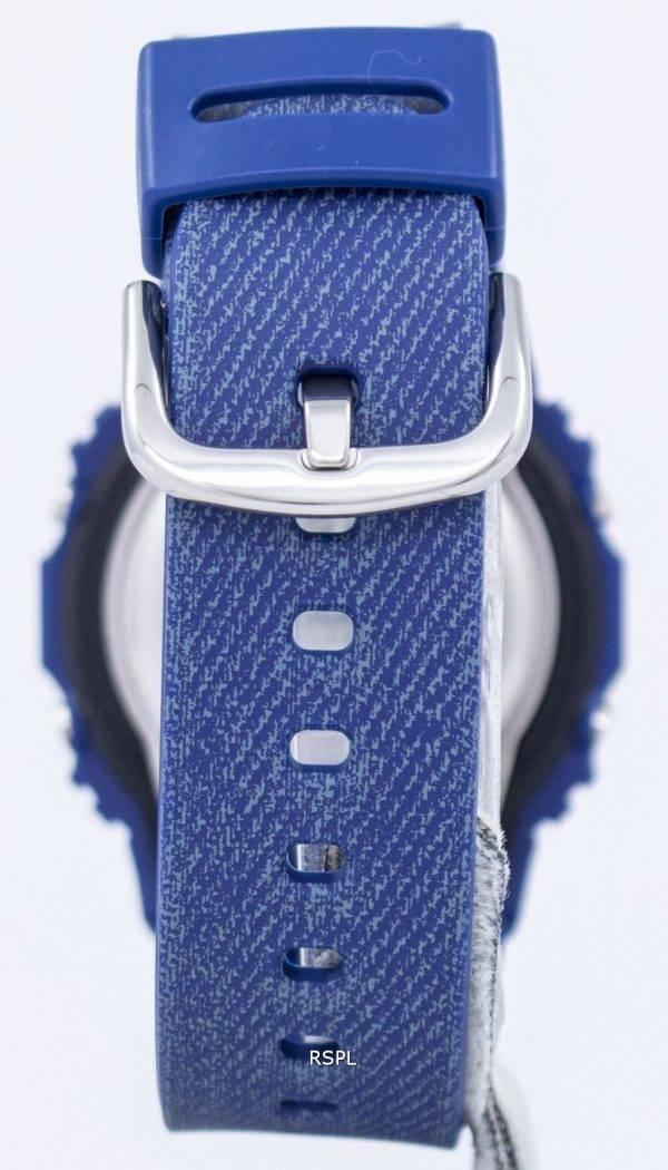 Casio Baby-G Denim serait d'alarme numérique 200M BGD-560DE-2 Women Watch