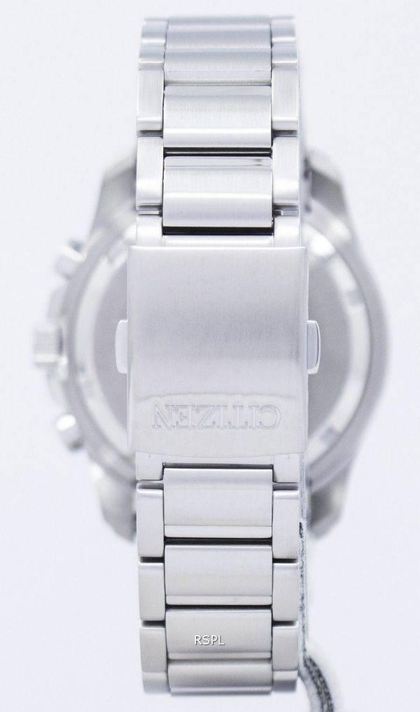 Montre Citizen Eco-Drive chronographe quantième perpétuel alarme BL5540-53E masculine