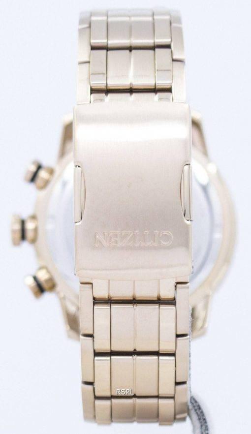 Montre Citizen Eco-Drive chronographe tachymètre analogique CA4086-56E masculine