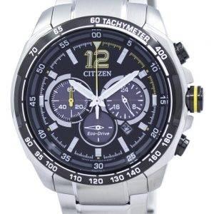 Citizen Eco-Drive chronographe tachymètre CA4234-51E montre homme