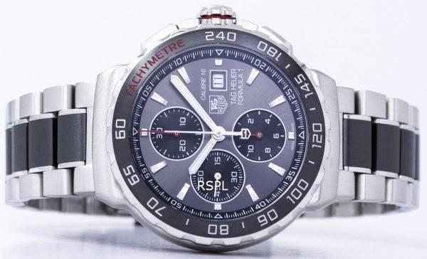 Tag Heuer Formula 1 chronographe automatique tachymètre CAU2011. BA0873 Montre homme