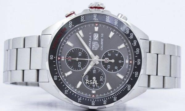 Tag Heuer Formula 1 chronographe automatique tachymètre CAZ2012. BA0876 Montre homme