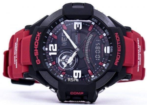 Casio G-Shock GravityMaster monde temps analogique numérique 200M GA-1000-4 b montre homme