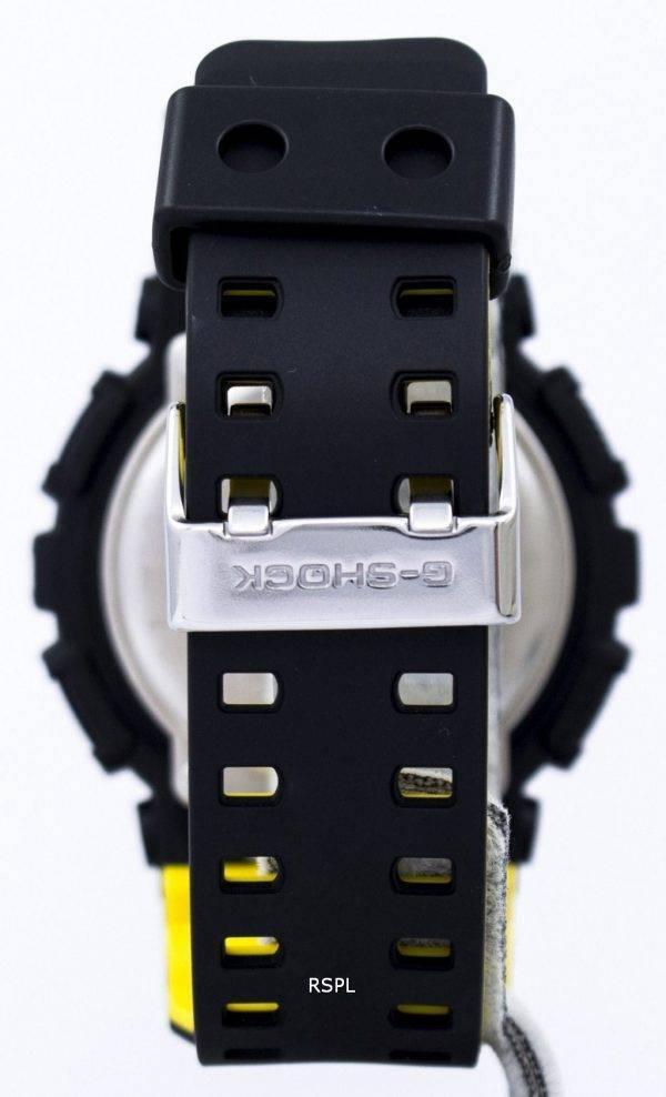 Casio G-Shock monde résistant aux chocs heure analogique numérique GA-100BY-1 a montre homme