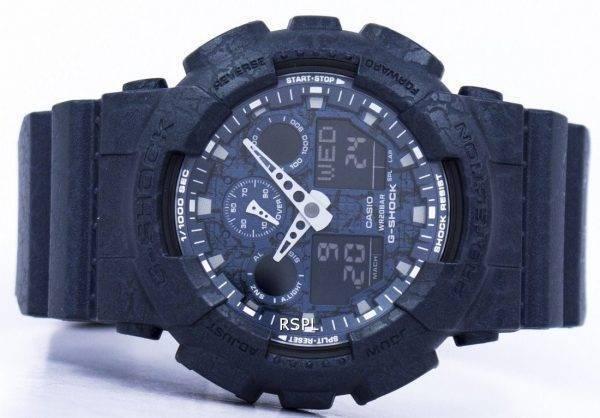 Casio G-Shock monde résistant aux chocs heure analogique numérique GA-100CG-2 a montre homme