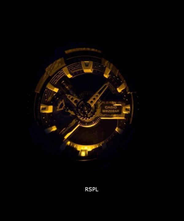 Casio G-Shock monde résistant aux chocs heure alarme Quartz GA-110TX-2 a montre homme