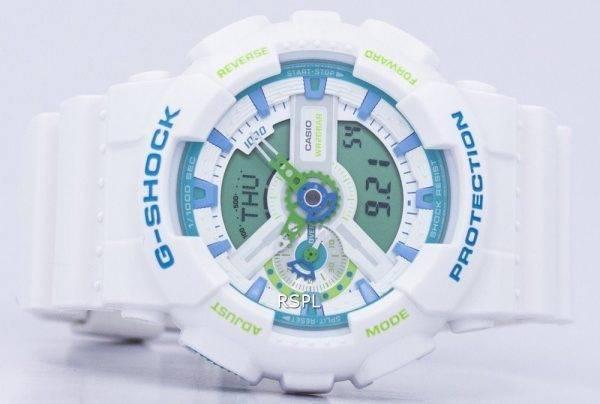 Casio G-Shock Sport résistant aux chocs monde temps analogique numérique GA-110WG-7 a montre homme