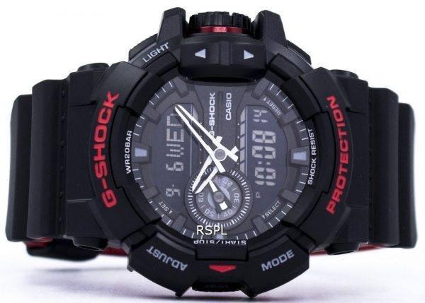 Casio G-Shock Analog digimonde fois 200M GA-400 h-1 a montre homme