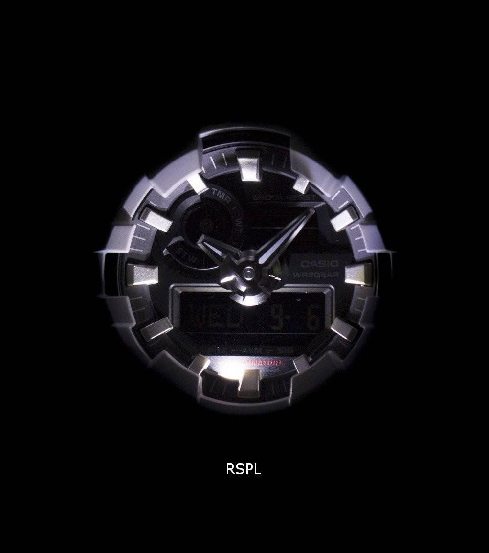48d712f248e Analogique numérique Casio G-Shock 200M GA-700-7 a montre homme France