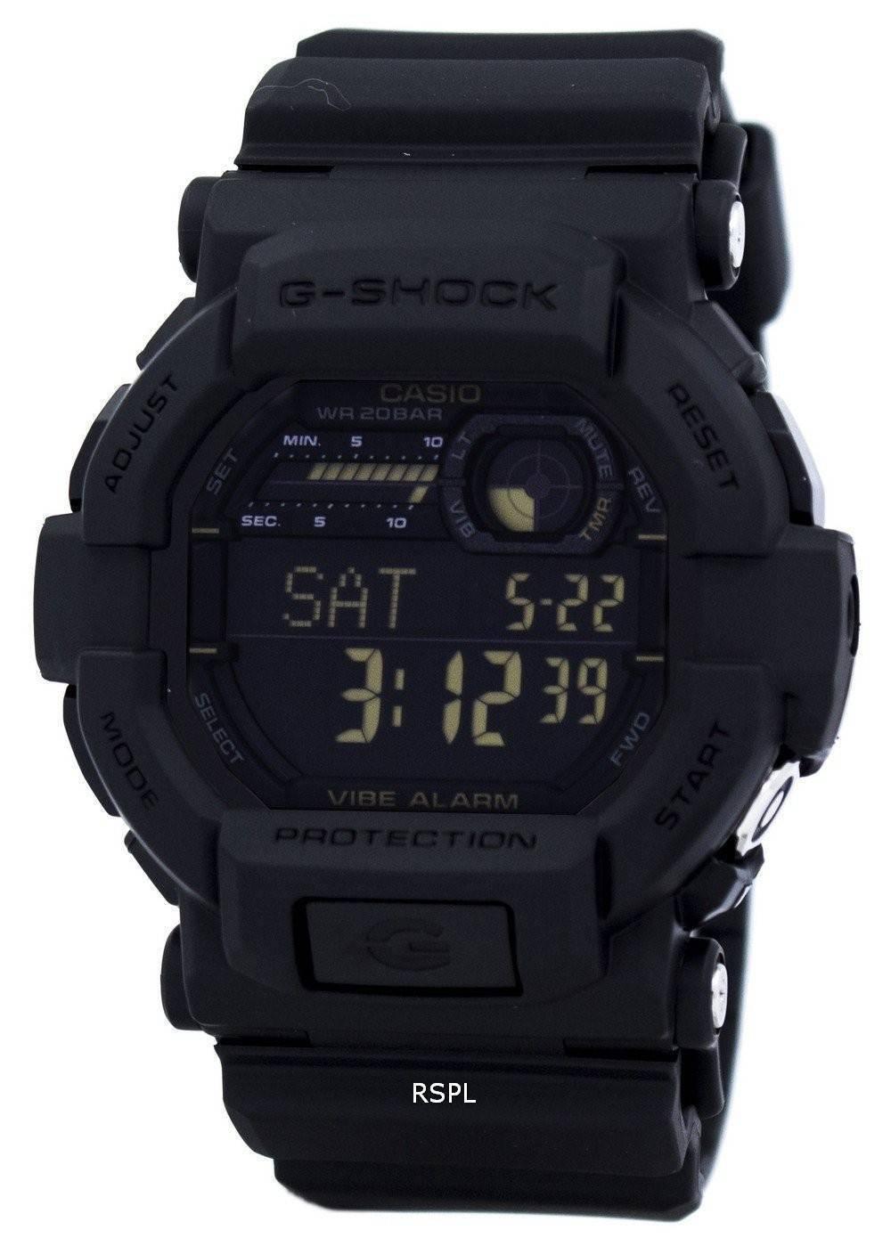 Montre Casio G Shock numérique GD 350 1 b masculin France  s2u1P