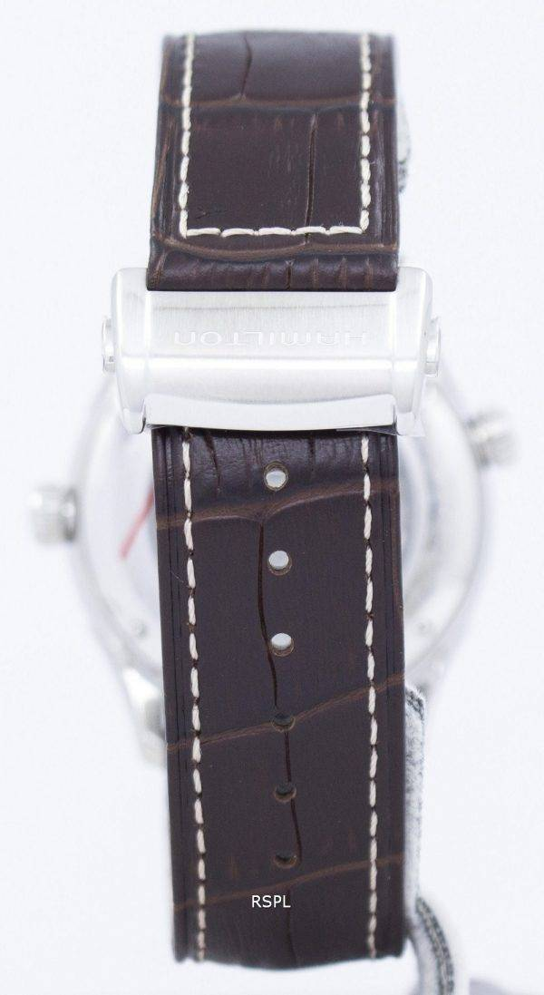 Montre Hamilton Jazzmaster GMT automatique H32605551 masculin