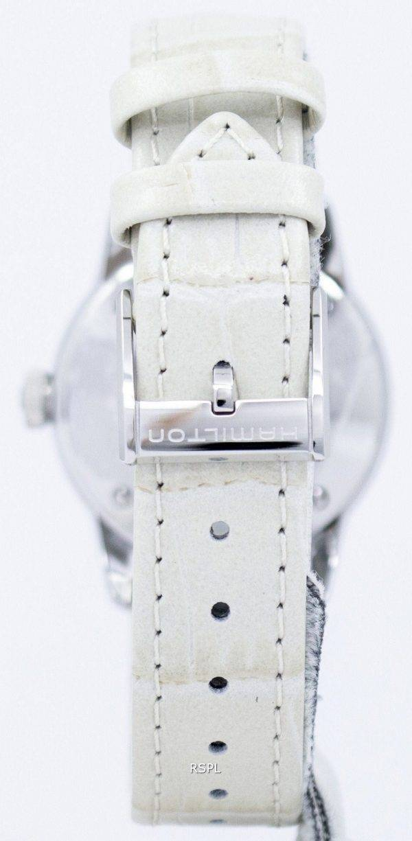 Montre Hamilton American Classic Railroad automatique diamant Accent H40405821 féminin
