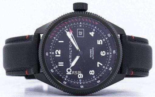 Montre Hamilton Khaki Aviation décollage Air Zermatt automatique H76695733 homme