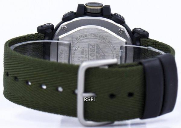 Montre Casio Protrek Tough Solar analogique numérique PRG-600YB-3 hommes