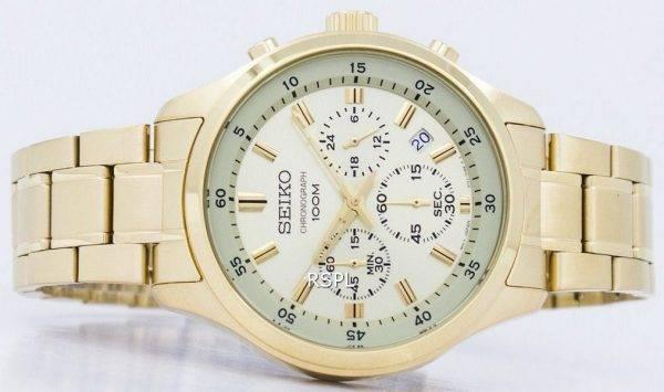 Montre Seiko chronographe Quartz SKS592 SKS592P1 SKS592P hommes